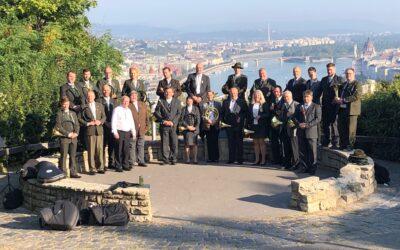 Evropští trubači na konferenci CIC v Budapešti